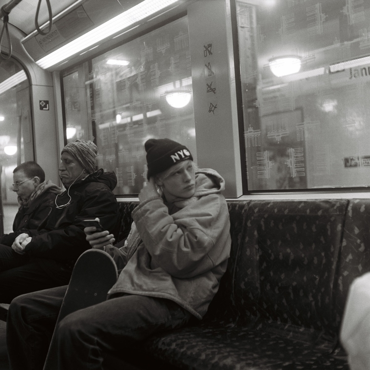 Subsway song - berlin, filmphotography - stefano_bianco | ello