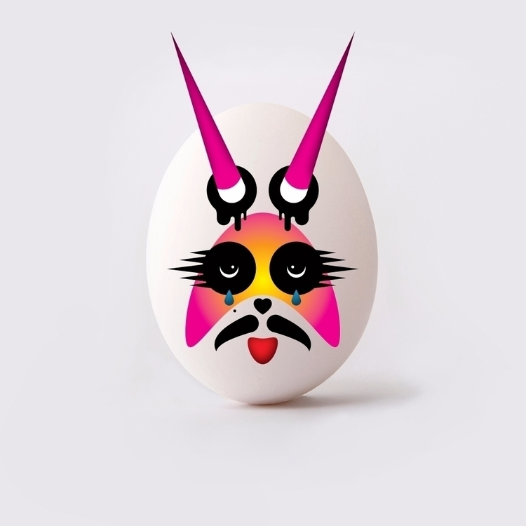 fun - easter, eggfun, eastereggs - unloved_one | ello