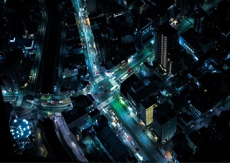 Tokyo Crossing  - kratskcinnay | ello