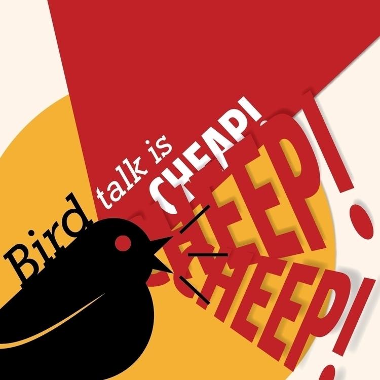 Bird talk cheap cheep cheep - design - invisible_friends | ello
