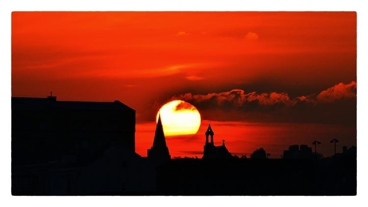 Sunset Silhouette - mrpaulanthony   ello