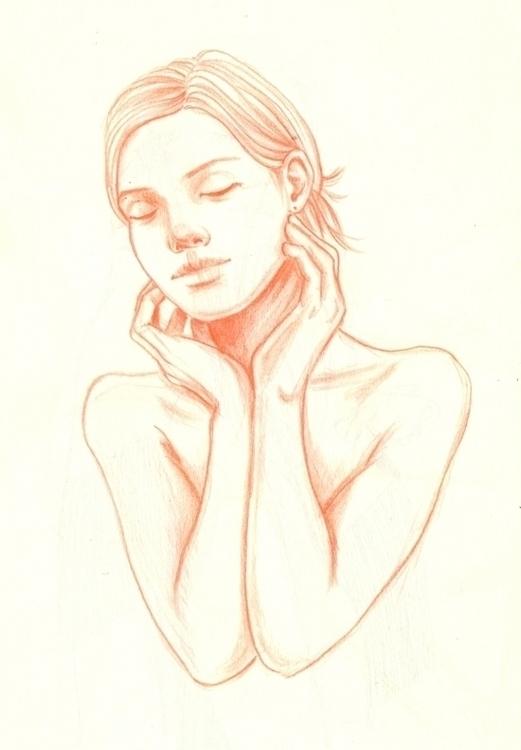 study, doodle, drawing, sketch - j0eyg1rl | ello