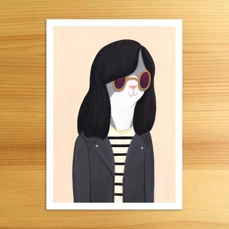 Cool Cat Print - nellie   ello
