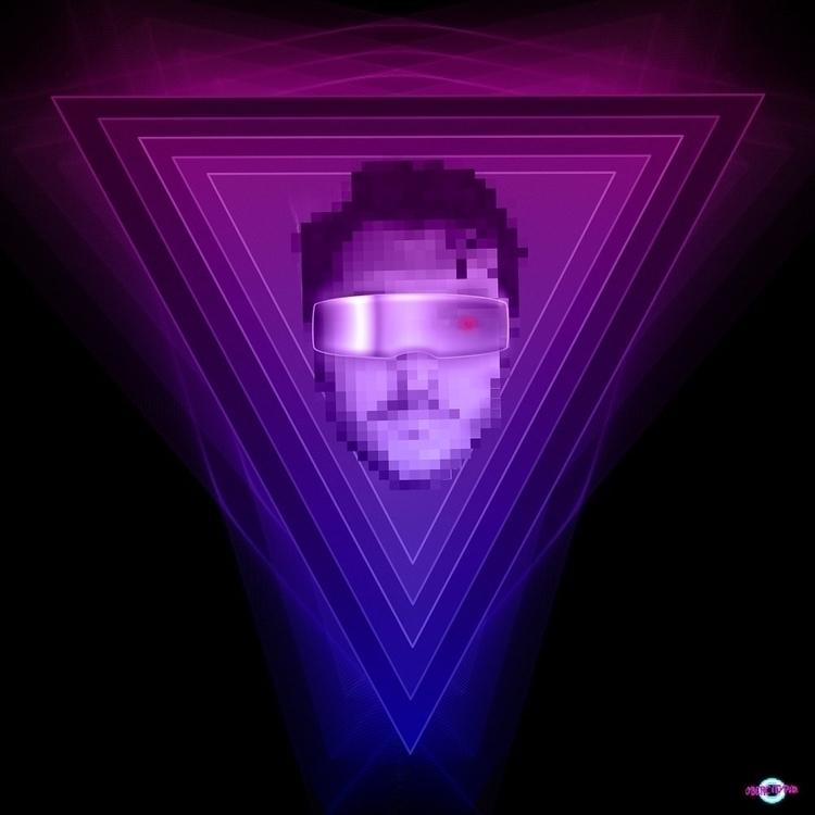 Pixelcop portrait edit buddy, i - cybercitypunk | ello
