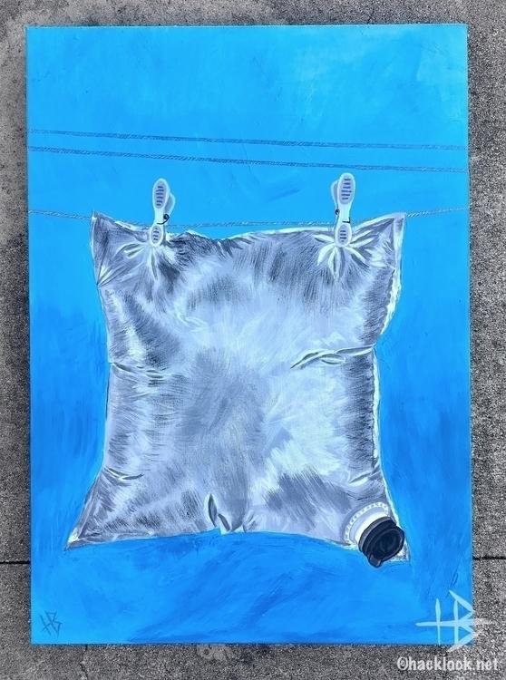 Goon fortune - acrylic, painting - hacklock | ello