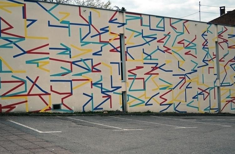 Modo generative mural, Besançon - eltono   ello