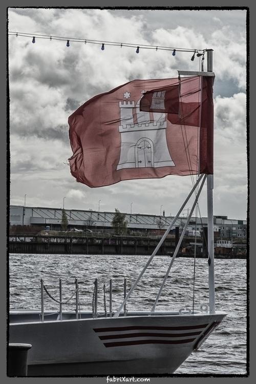 hamburg harbour - fabrixart | ello