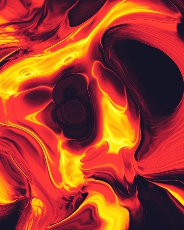 Danui - digitalart, abstract, artdaily - dorianlegret | ello
