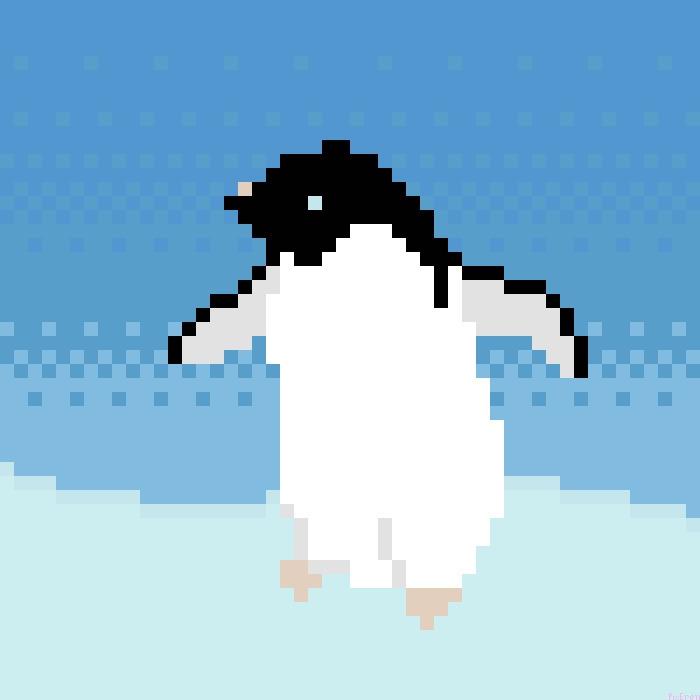 Penguin - pixeren | ello