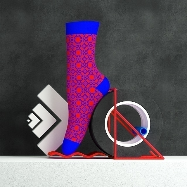 OFFF 2017 - Barcelona Sock 01/0 - zehnzehnsocks | ello