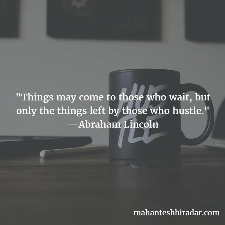 Quotes, Inspiration, Hustle, Abraham - dailyinspiration | ello