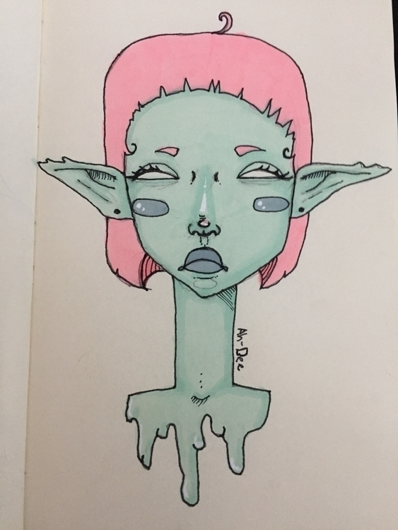 art, markers, copic - ahdee | ello