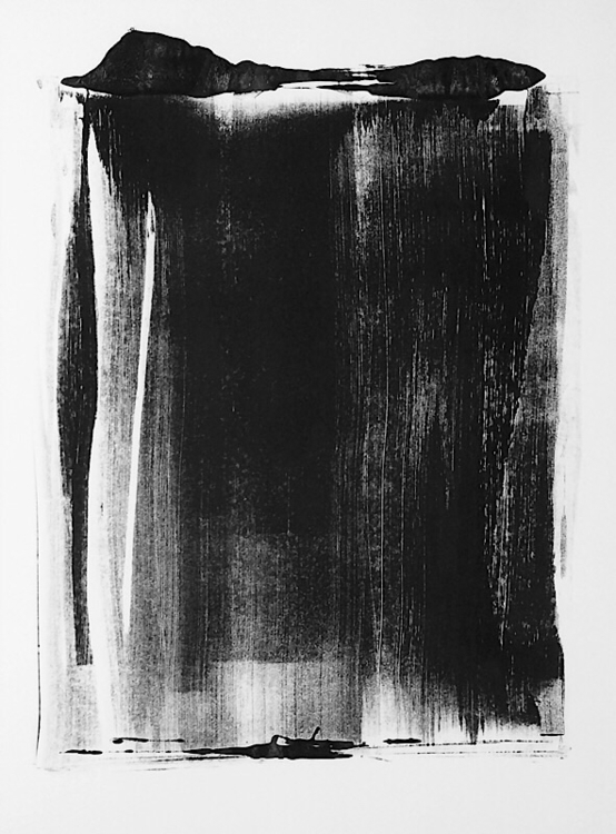 art, monotype, blackandwhite - mlui | ello