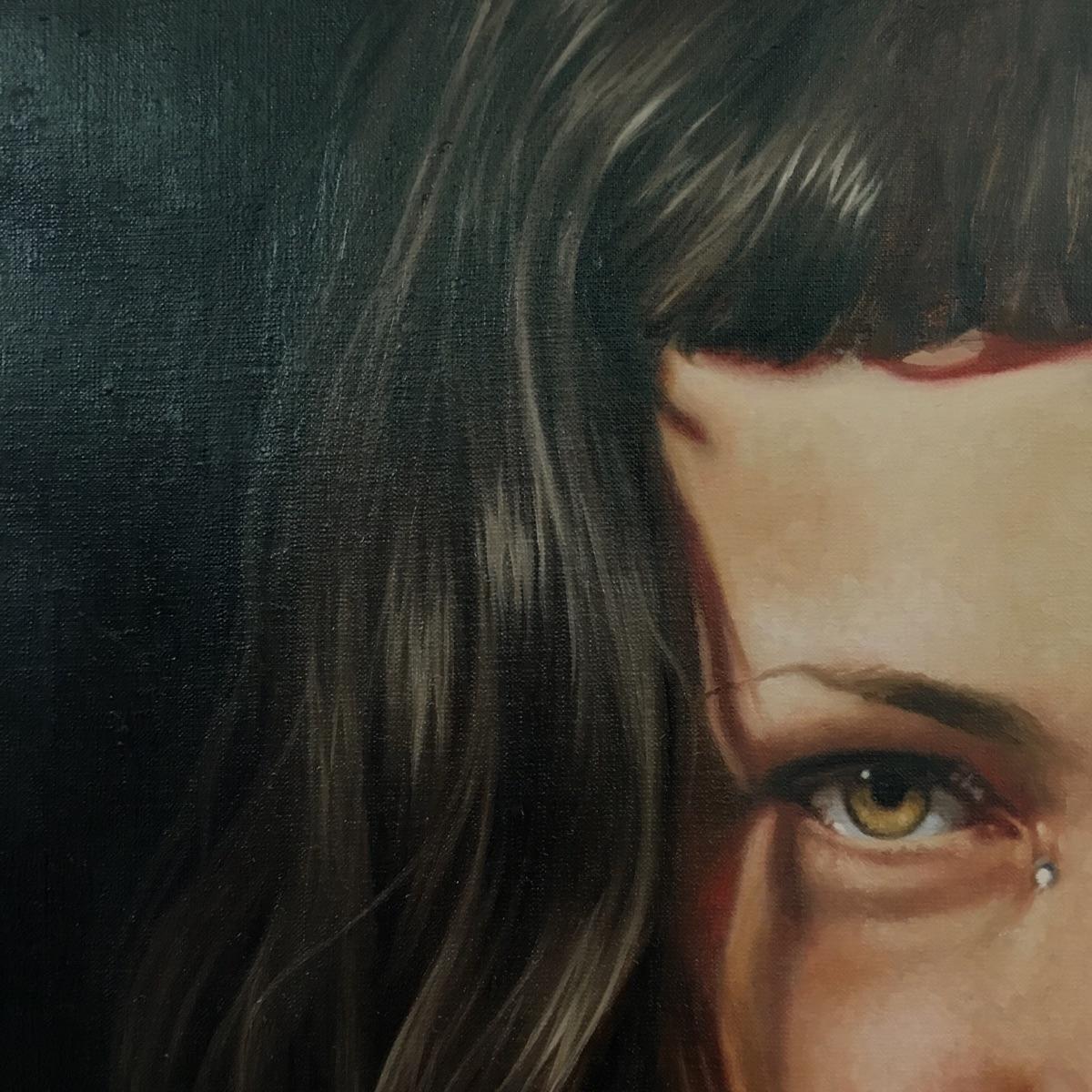 Detail portrait submitting show - nadinerobbinsart | ello