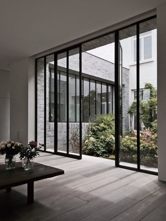 Living area double glazed door - upinteriors | ello