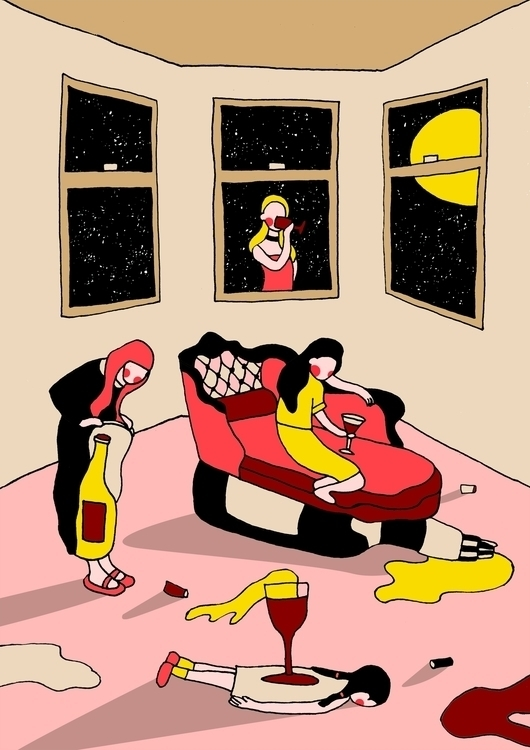 DONT EXIST, LIVE - illustration - designani | ello
