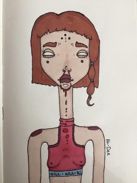 art, markers, promarkers, ahdeeart - ahdee | ello