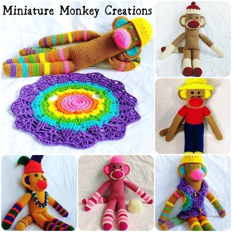 Happy order custom monkey shop - miniaturemonkeycreations | ello