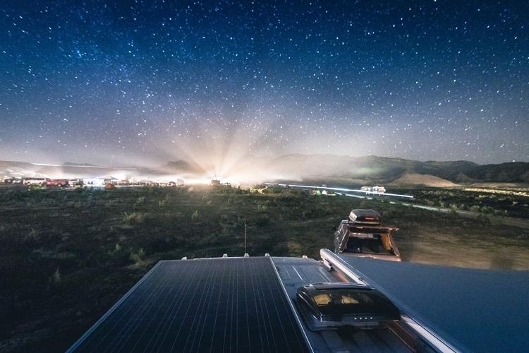 Views night roof - thomaswoodson | ello