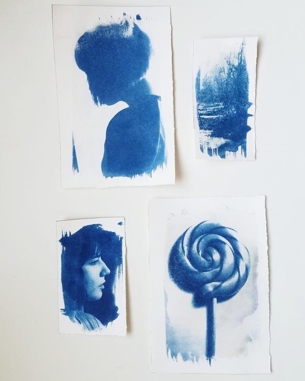 cyanotypes transparencies - art - megankoth   ello