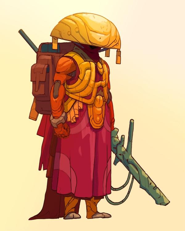 Speargun, patterned armor panop - cosimo | ello