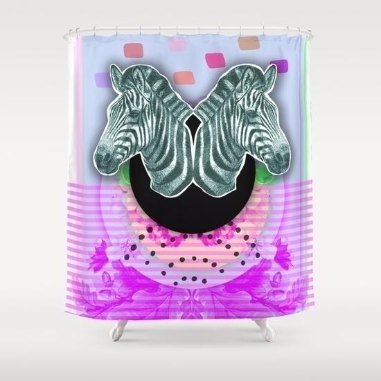 Zebra style (2017 - glitch, glitchart - gloriasanchez | ello