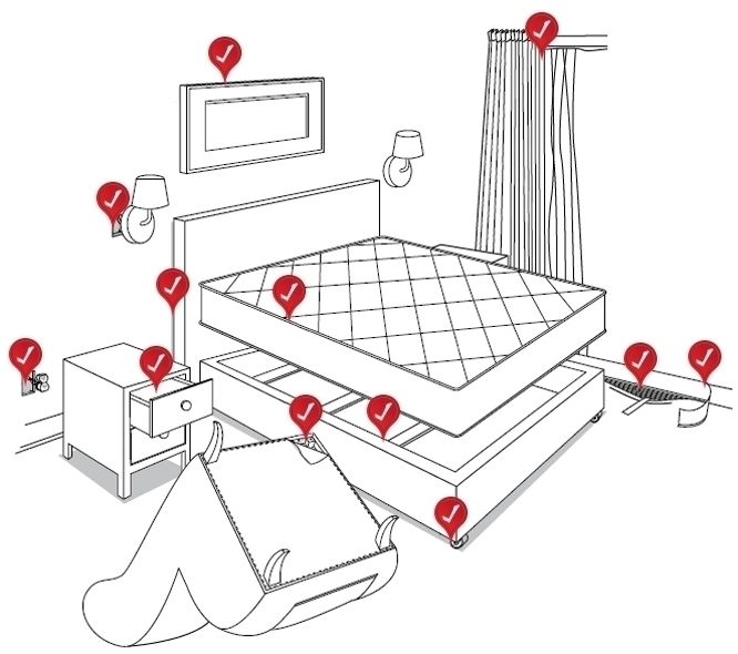 Rid Bed Bugs ensure bugs left t - bedbugdetector | ello