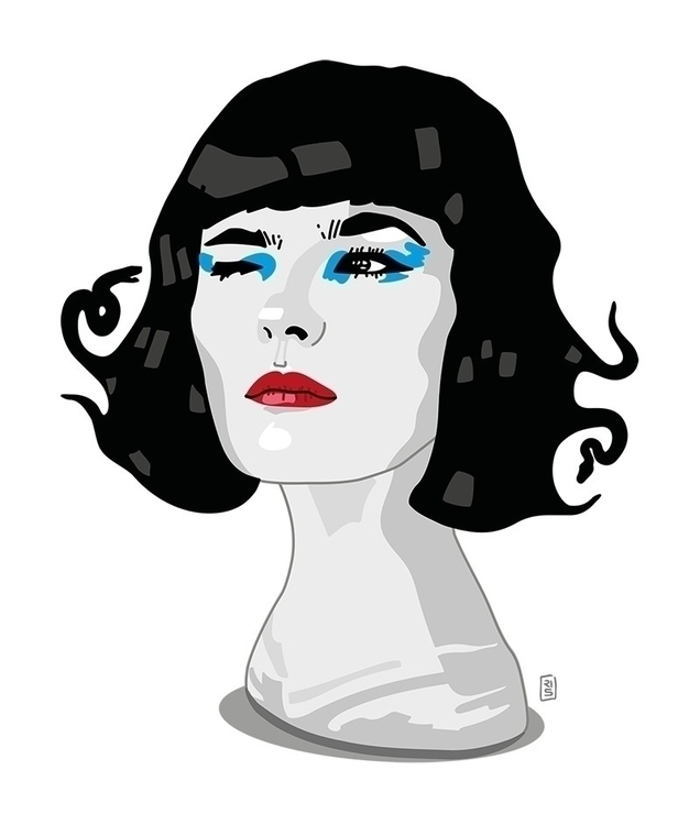 Olivia Merilahti - Dø - illustration - rivasinge | ello