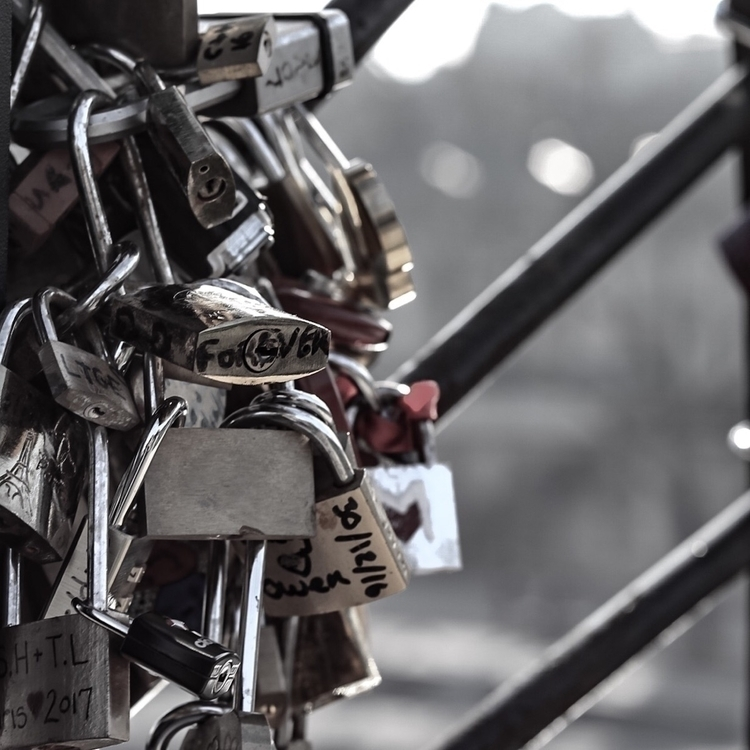 Paris, Love, France, LoveLock - almostchic | ello