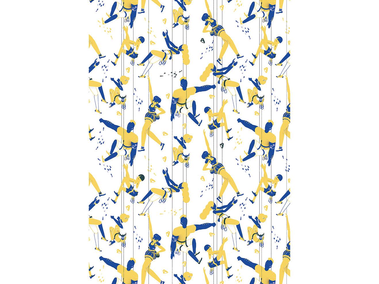 Closing climber series pattern  - paulaalvz | ello