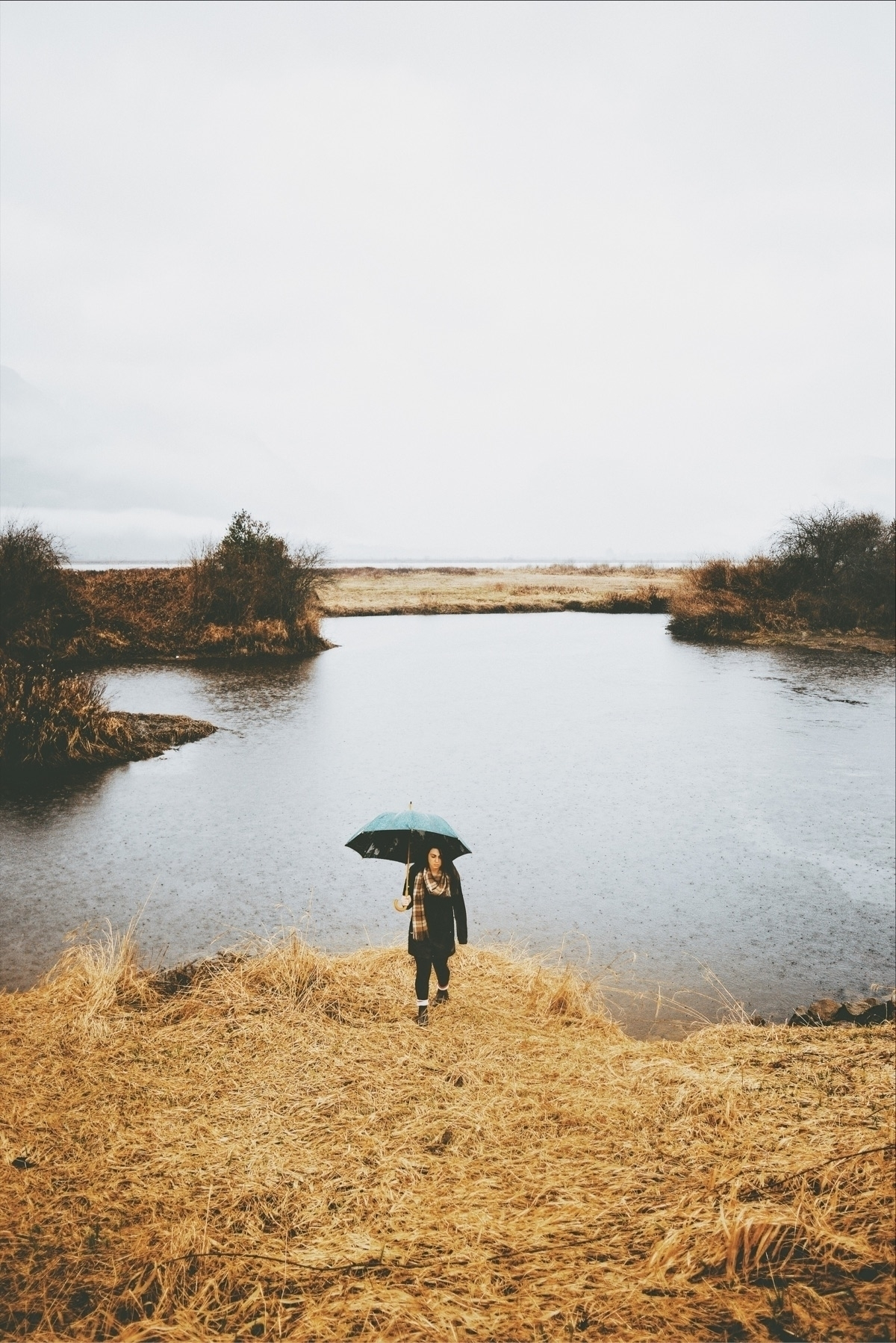 pours, pours! Pitt Lake, BC. /  - davidarias | ello