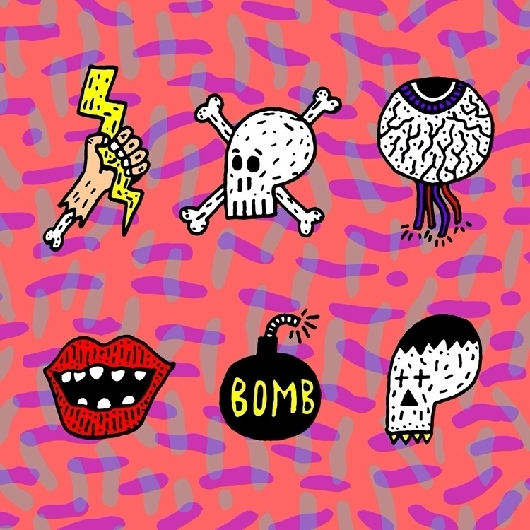 Psychedelic horror. mike walshe - mikewalshe   ello