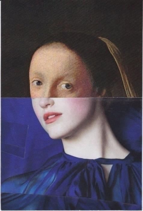 Johanessa. hand collage; 10x15c - ewalook | ello