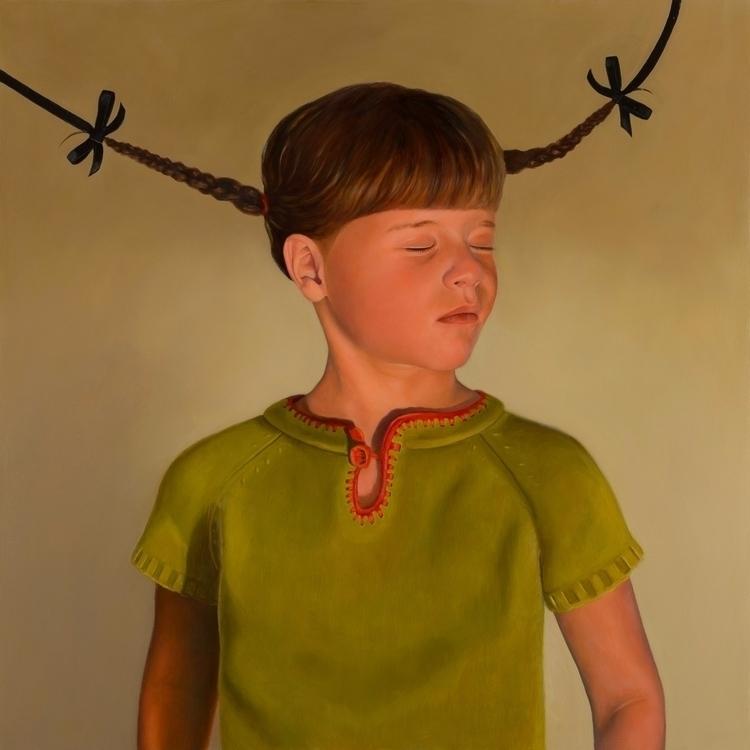 Disquiet VII Ribbons), 2013, oi - rebeccahastings | ello
