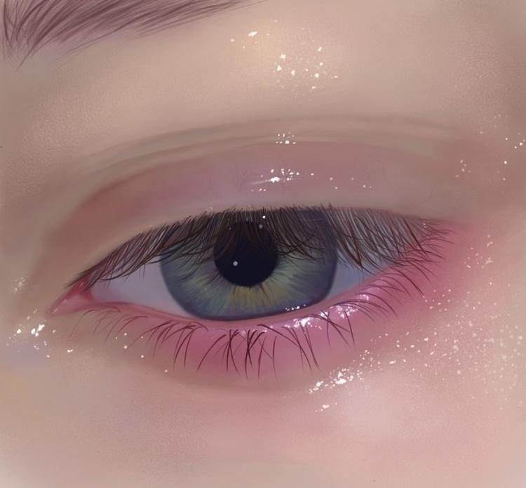 Eye studies. Photoshop CS6 Foll - rhemy | ello