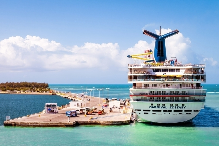 Docked Key West cruise ship Car - mattgharvey | ello
