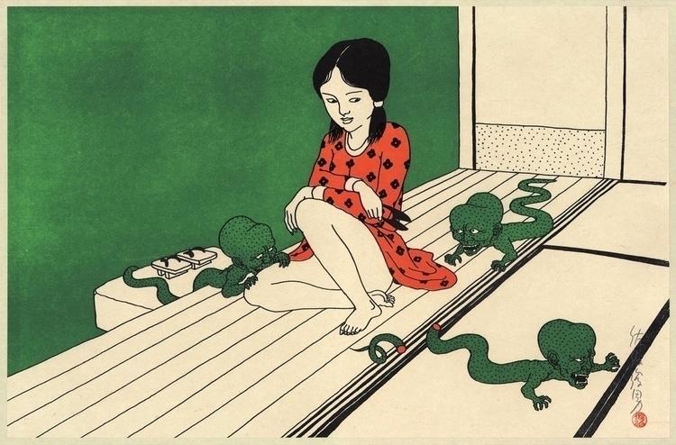 Toshio Saeki - erotica, art, japan - valosalo | ello