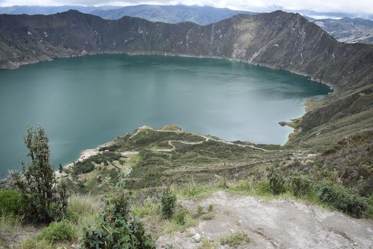 Quilotoa majestic - ecuador, quilotoa - nathanredington   ello
