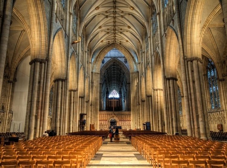 York Minster - impressive Nave  - neilhoward | ello