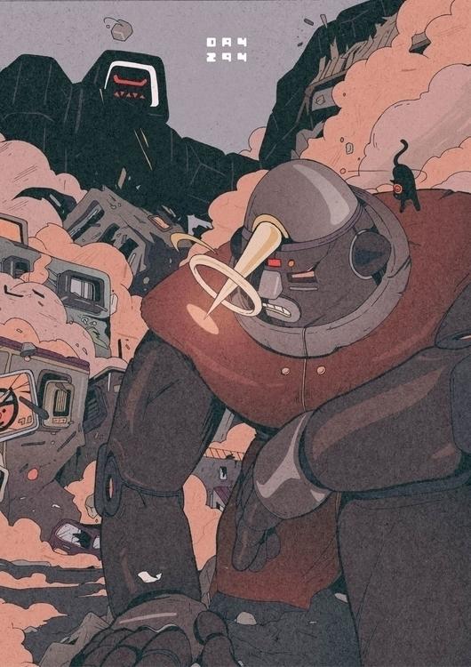 Day 294/365: Giant Robot BRABUS - 1sles | ello