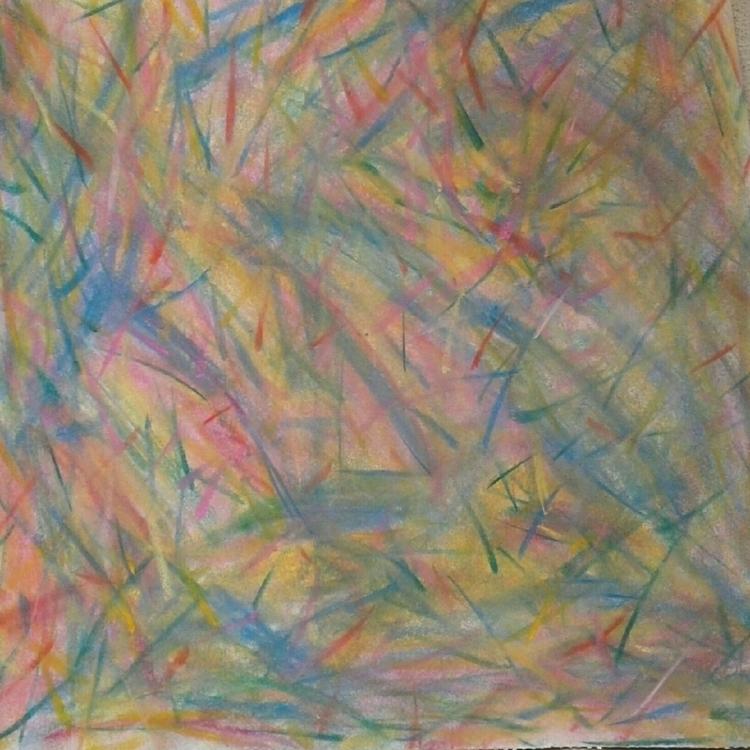 pastel chalk paper abstractions - royhummel | ello