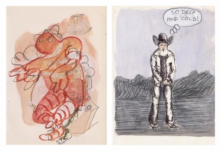 Gregory Joveniaux - comicstrip, diptych - particulescreatives | ello