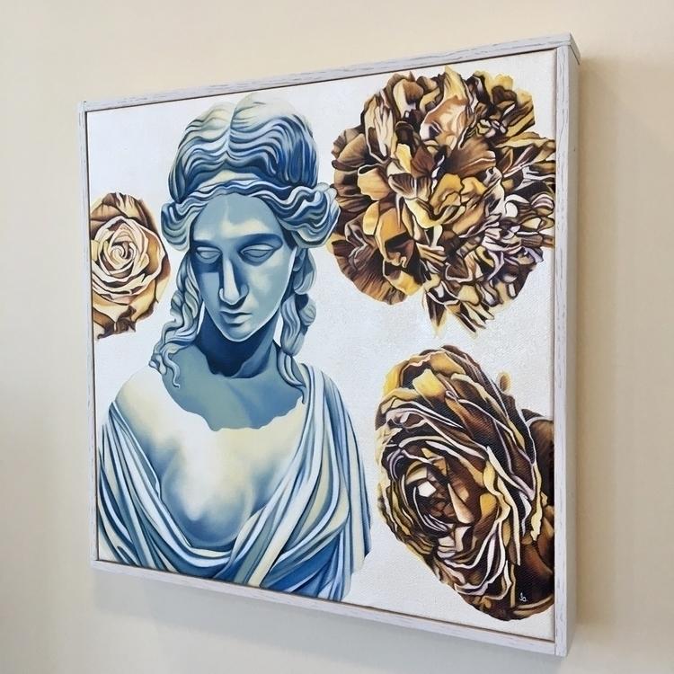 Ariadne oil canvas 12 - brandiread | ello