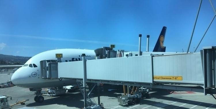 :airplane:️ LH455 FRA - SFO - rowiro | ello