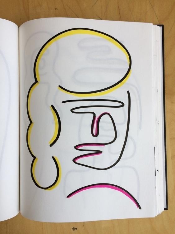SELFIE - illustration, color, sketchbook - mitsubishiufjfinancial | ello