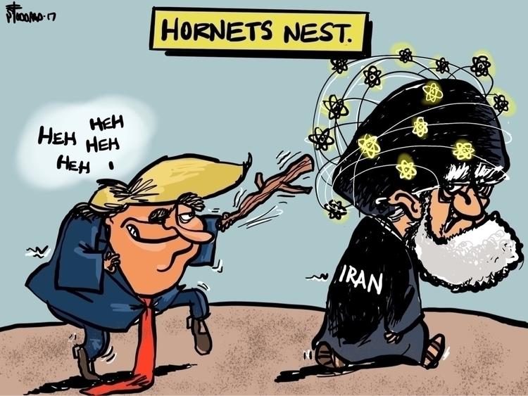Hornets Nest - illustration,, editorial, - sstoddard | ello