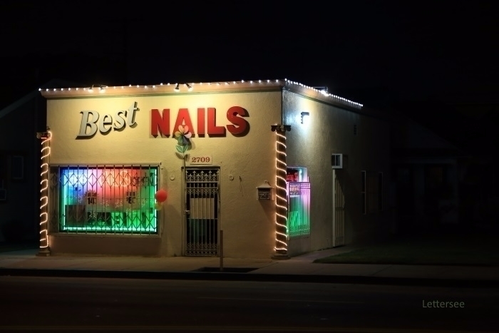Nails - nightphotography - lettersee | ello