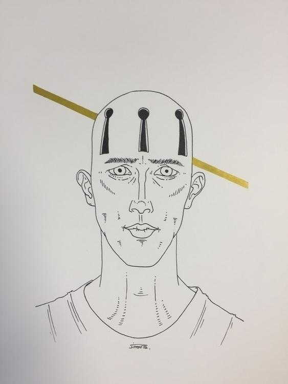 sans clé - illustration, art, man - jimmy-draws   ello