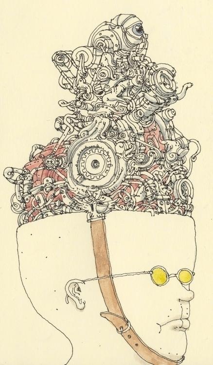 portrait yellow shades - mattiasadolfsson | ello