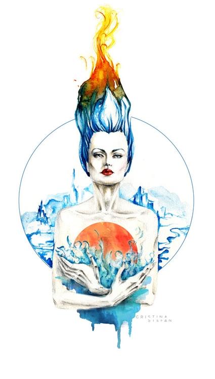 submission women depicted works - fallenfaeries | ello